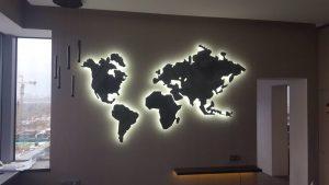 световая вывеска для интерьера